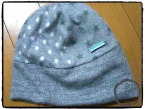 星ドットニット帽