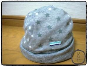 星ドットニット帽1